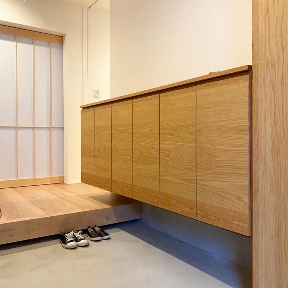 オーダー家具・玄関収納/関西・大阪