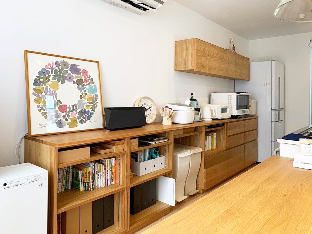 オーダー家具・食器棚カップボード