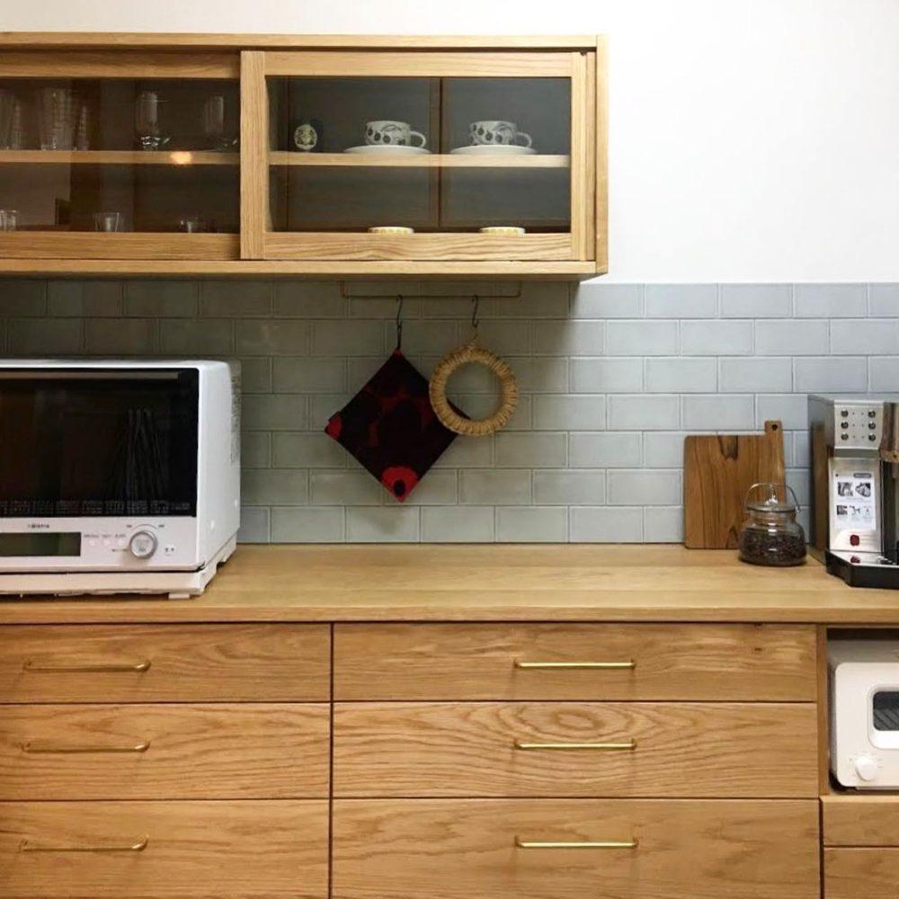 オーダー家具・食器棚カップボード/関西・滋賀