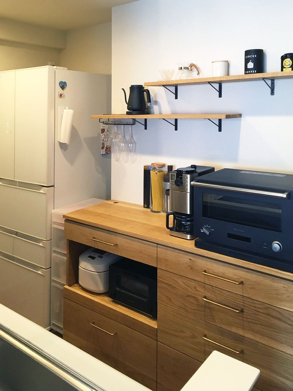 オーダー家具・カップボード食器棚/関西・兵庫・伊丹