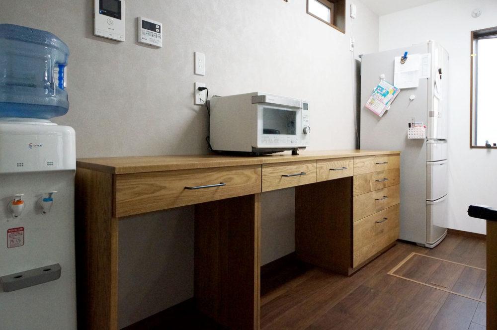 オーダー家具・カップボード食器棚デスク/関東・埼玉