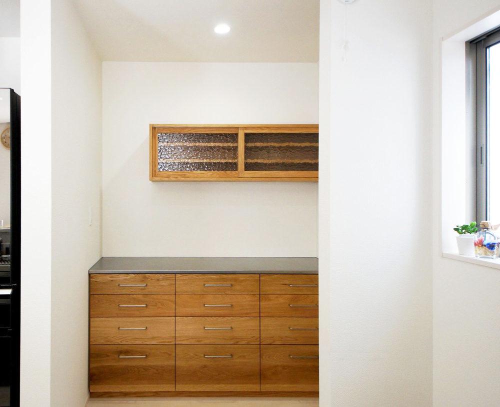 オーダー家具・カップボード食器棚/関東・静岡