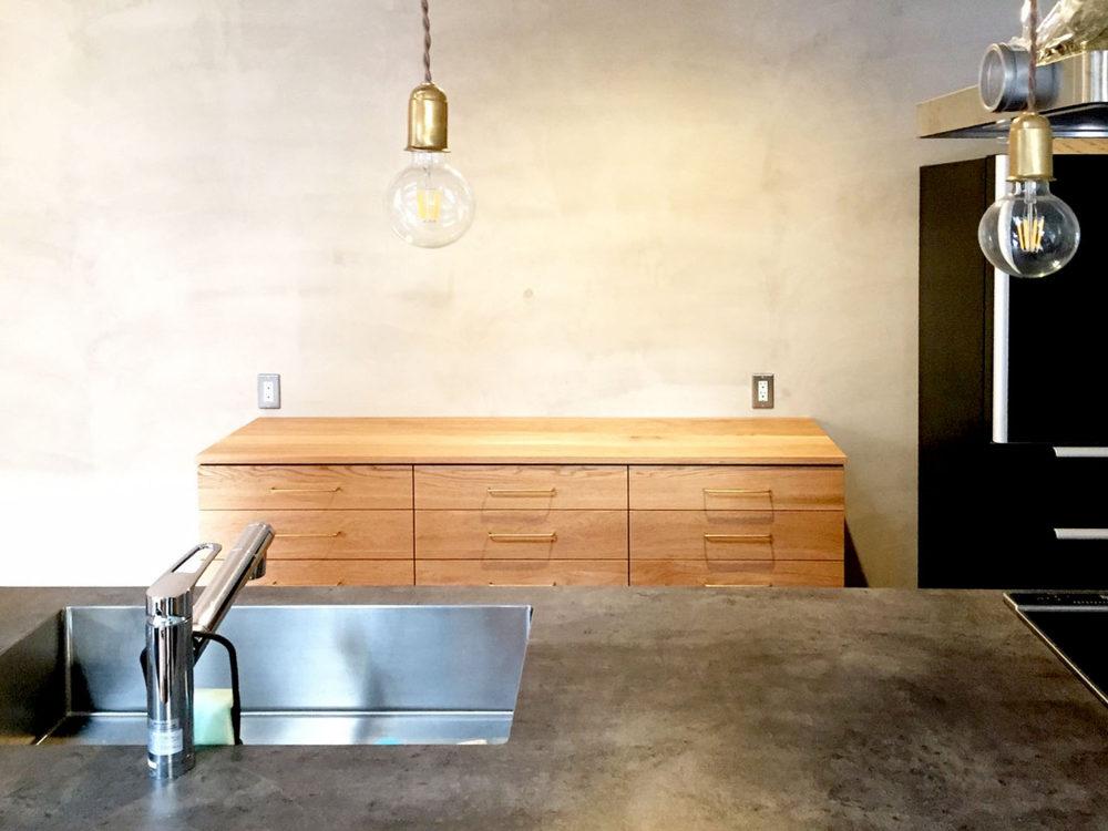 オーダー家具・カップボード食器棚/中国地方・広島