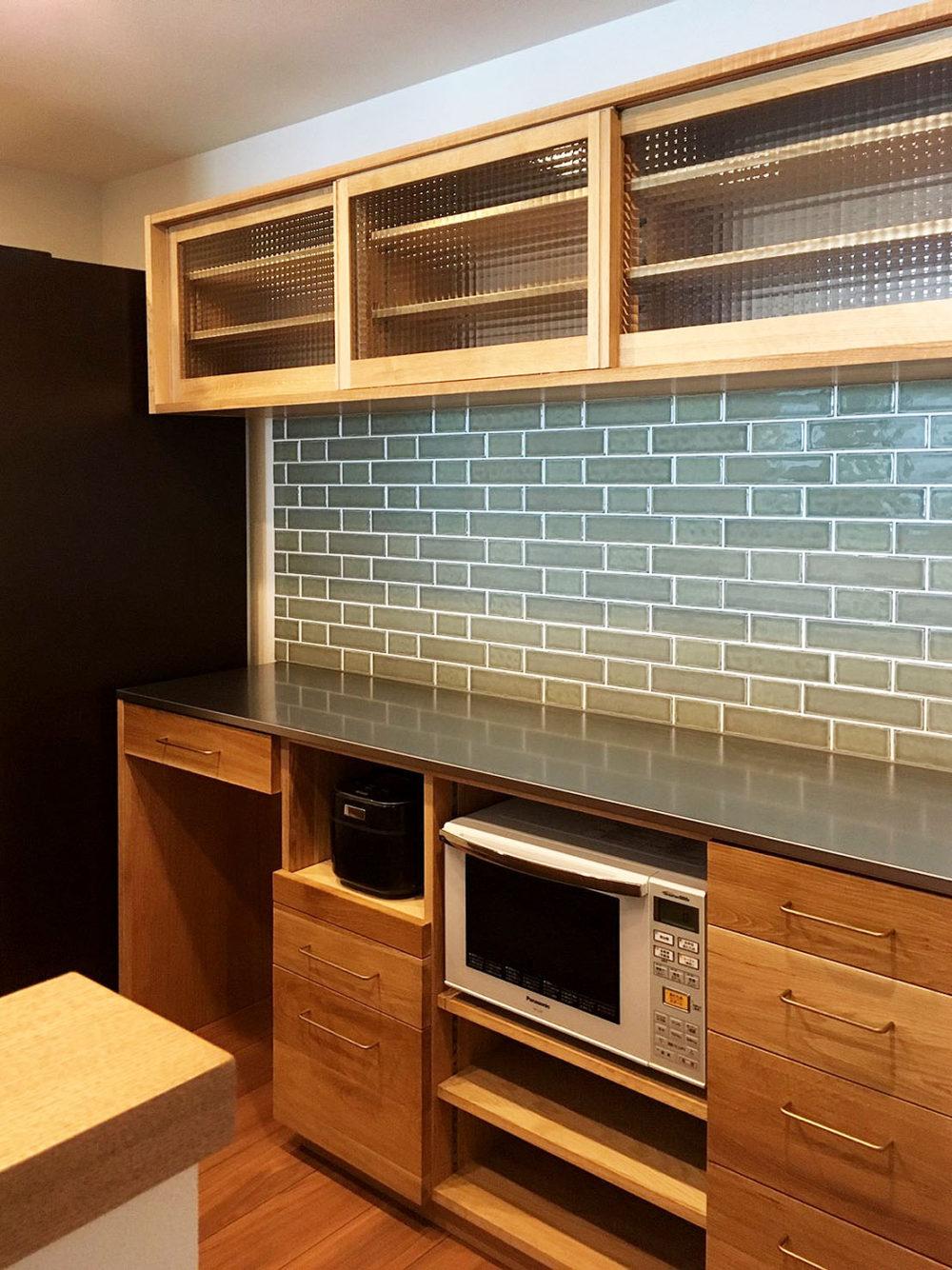 オーダー家具・カップボード食器棚/九州・福岡