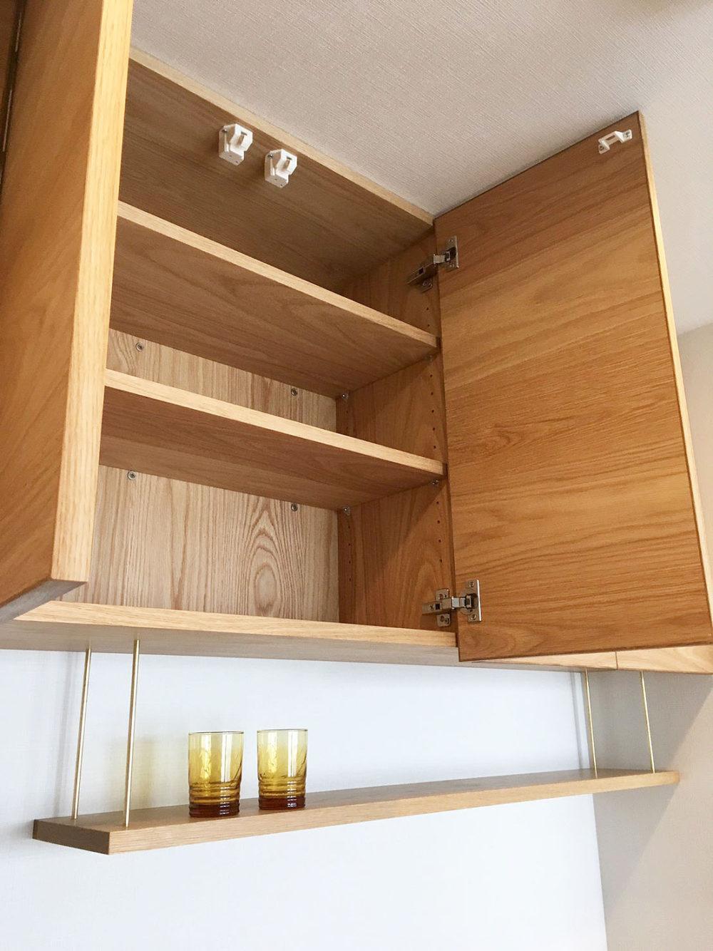 オーダー家具・カップボード食器棚/関西・大阪・茨木