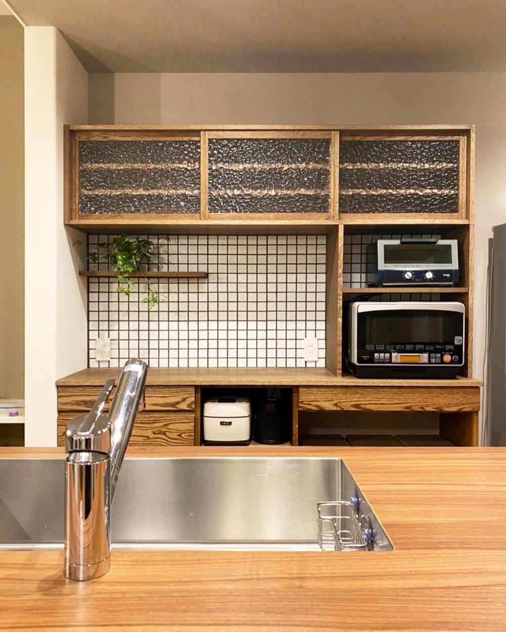オーダー家具・食器棚カップボード/関東・千葉