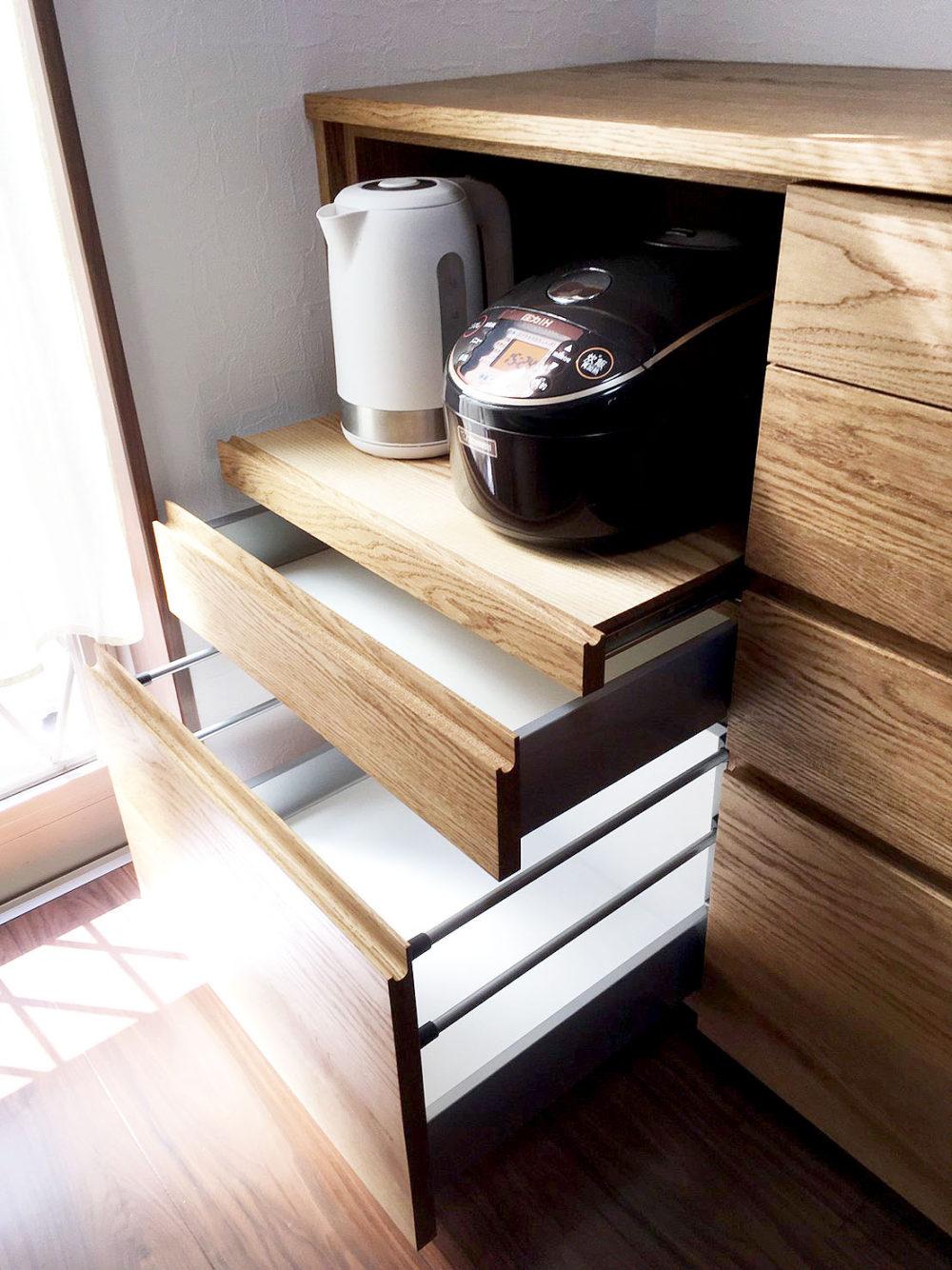オーダー家具・カップボード食器棚/関西・奈良