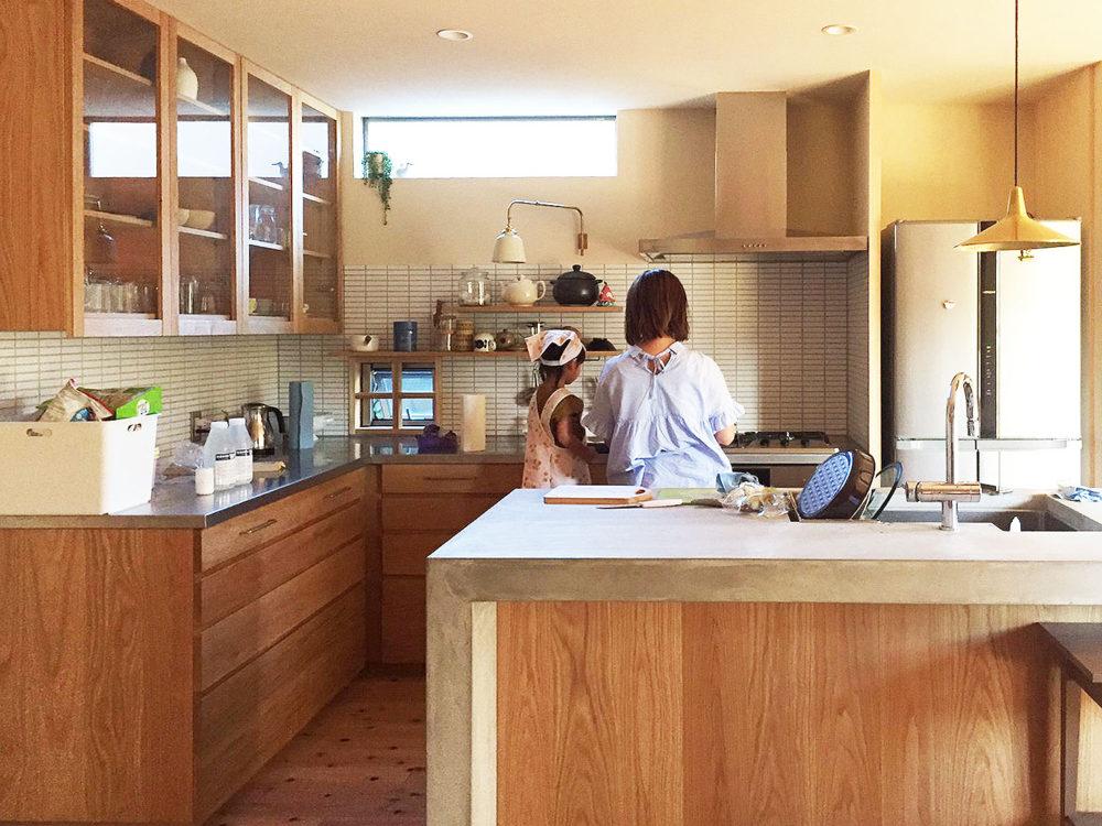 オーダーキッチン・家具・食器棚/関西・兵庫・神戸