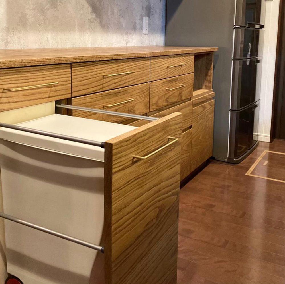 オーダー家具・カップボード・食器棚・机/関西・兵庫