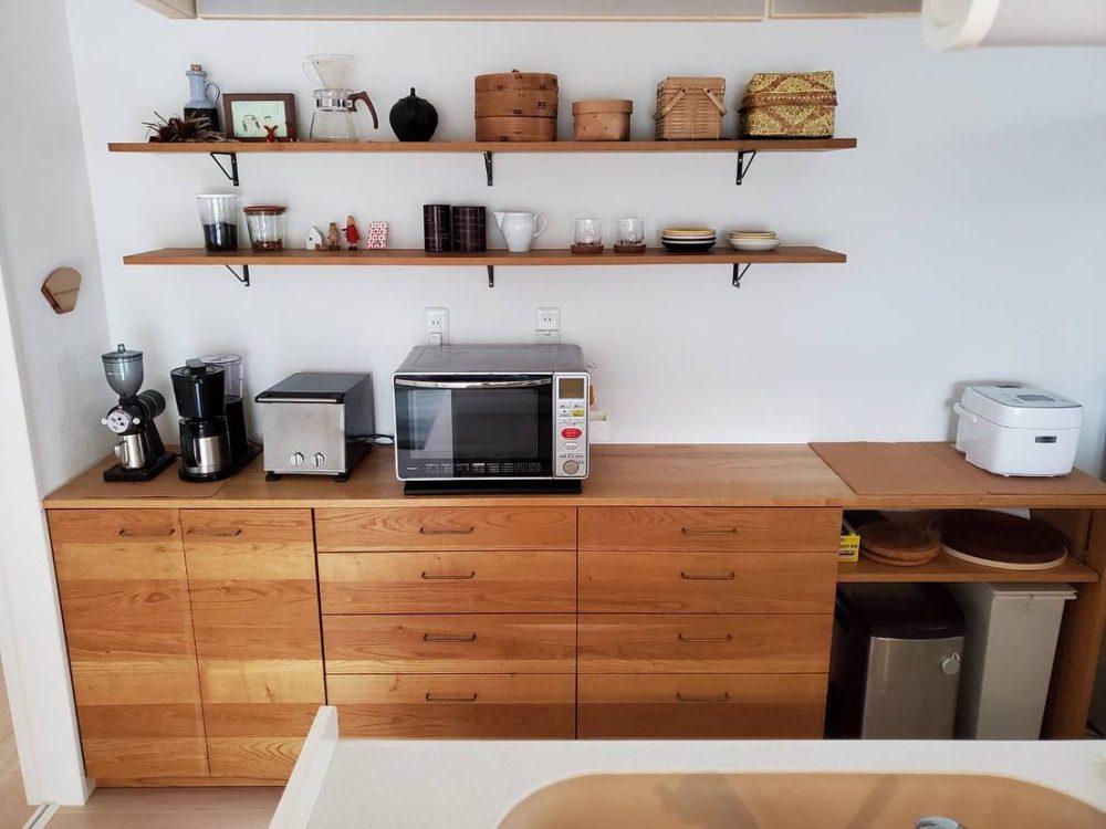 以前納品させて頂いたクライアント様からのお便り/カップボード・食器棚