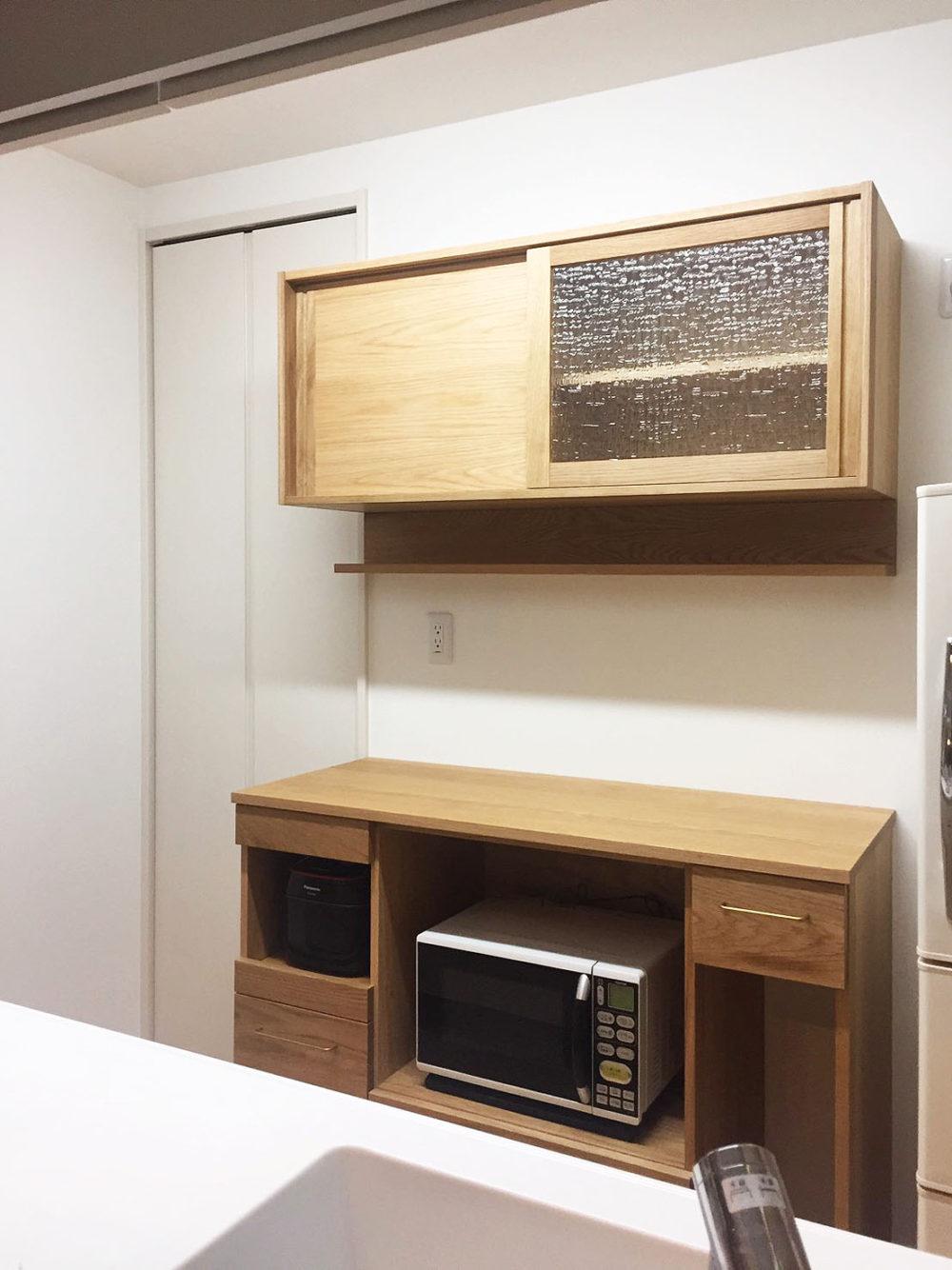 オーダー家具・カップボード食器棚/関東