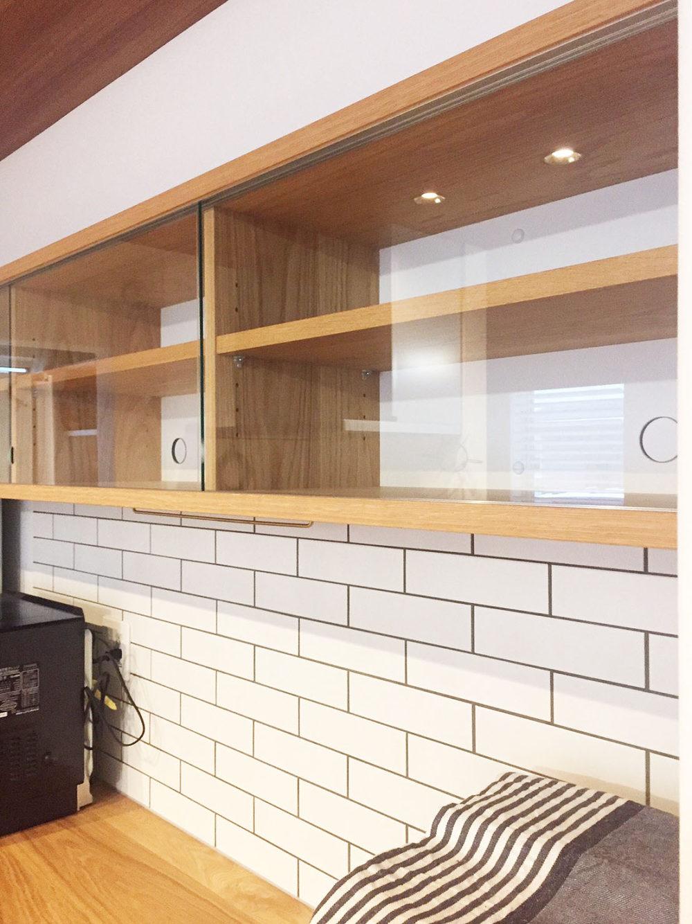 オーダー家具・カップボード食器棚/関東・千葉県