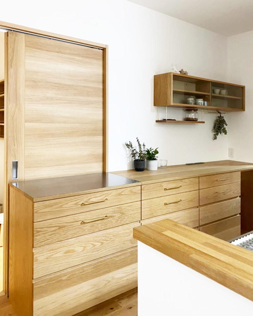 オーダー家具・カップボード・食器棚/関西・奈良