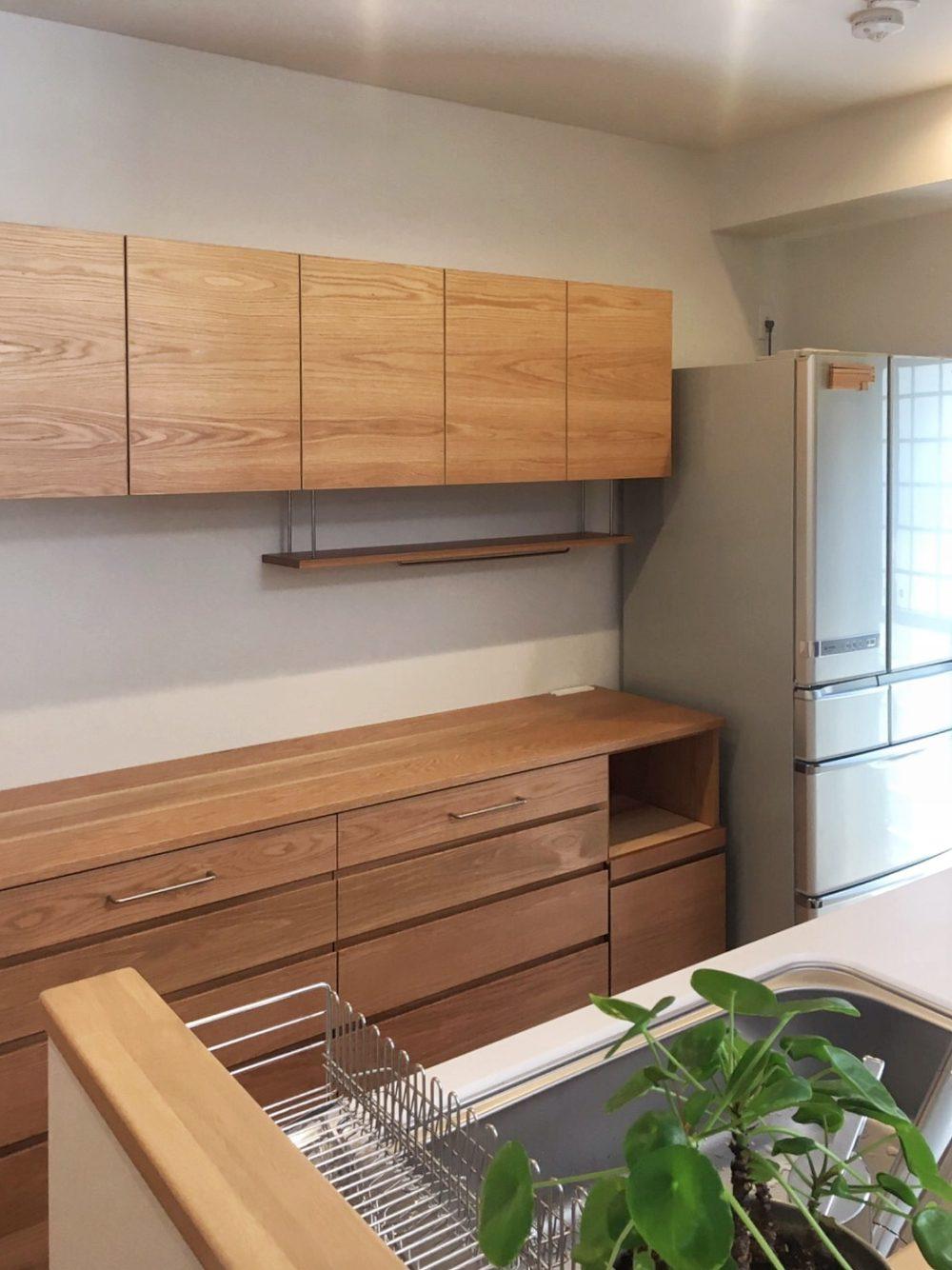 オーダー家具・カップボード食器棚/大阪府吹田市
