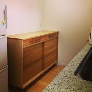 食器棚キッチン背面収納北摂