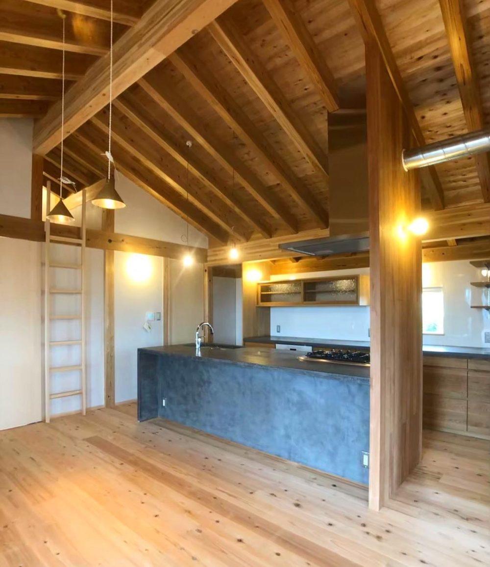 オーダーキッチン/神谷建築スタジオ様設計
