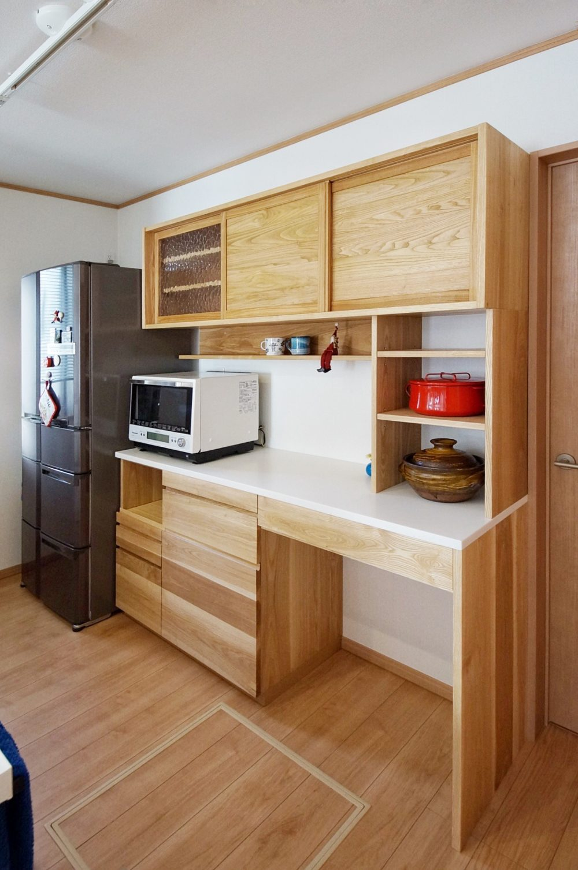オーダー家具・カップボード食器棚 関東・神奈川・横浜