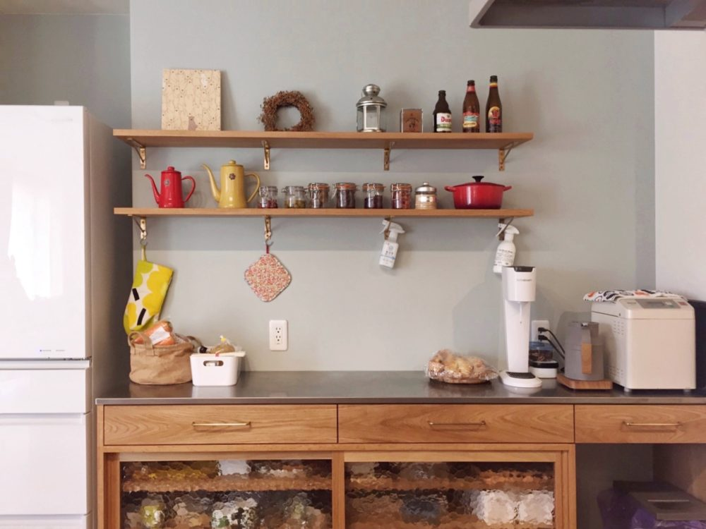 オーダー家具・カップボード食器棚メンテナンス/関西・和歌山