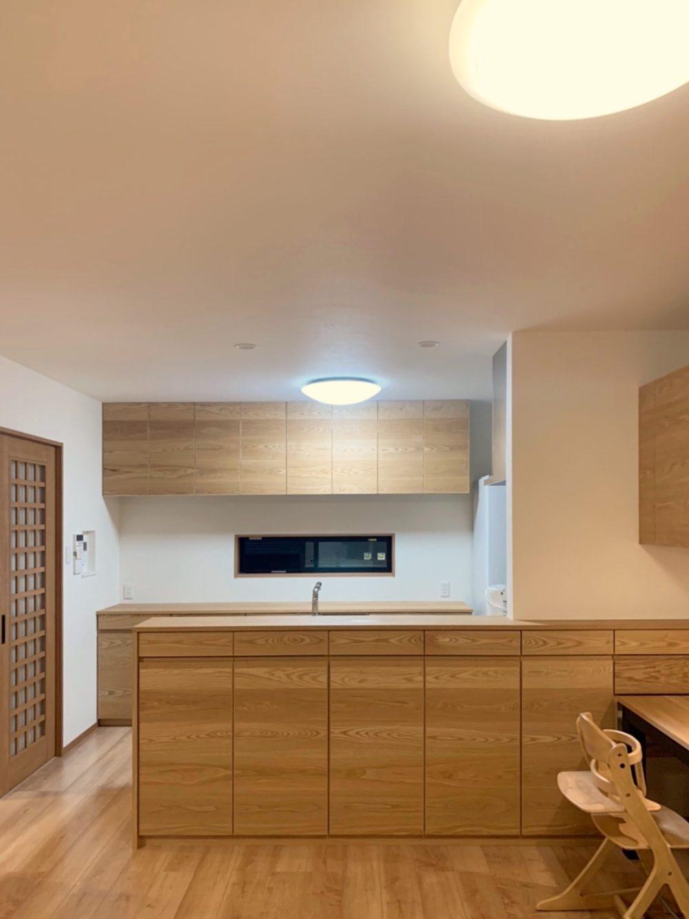オーダー家具・カップボード、キッチンカウンター/関西・京都
