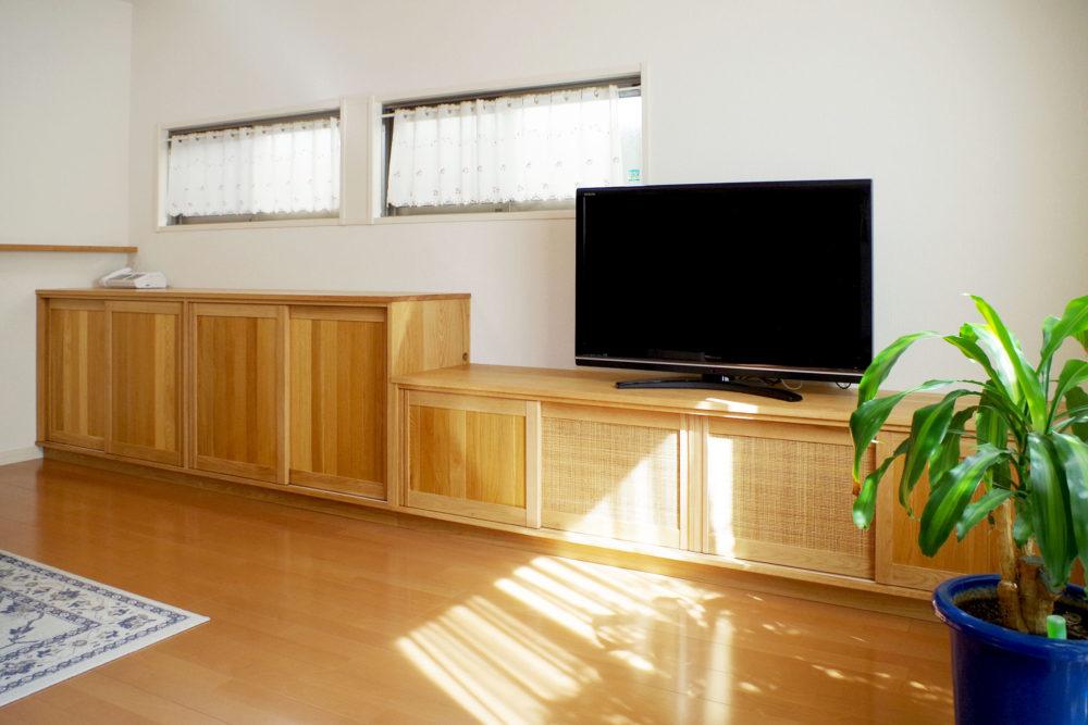 オーダー家具・テレビボード&リビングボード/関西・京都