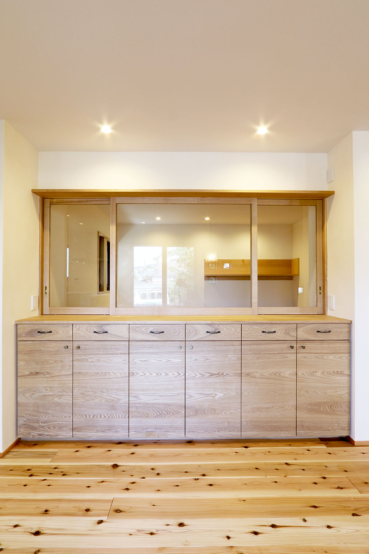オーダー家具・リビング収納、リビングボード/関西・京都