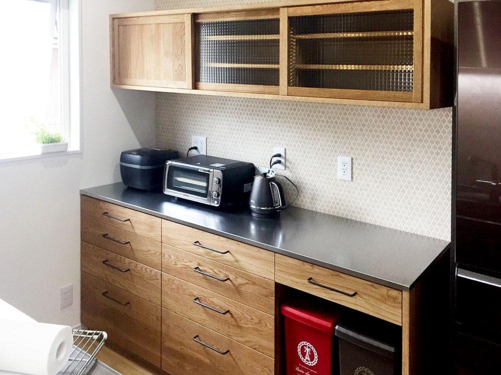 オーダー家具・食器棚、カップボード/関西・兵庫・赤穂