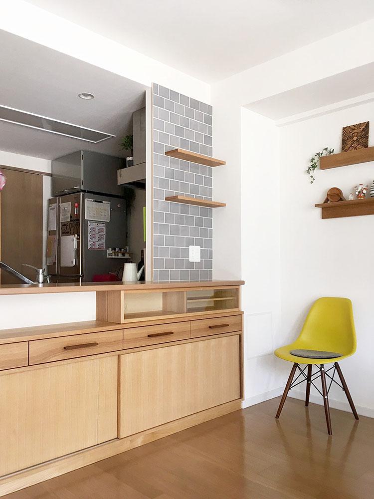 オーダー家具・カップボード、棚板/関西・奈良