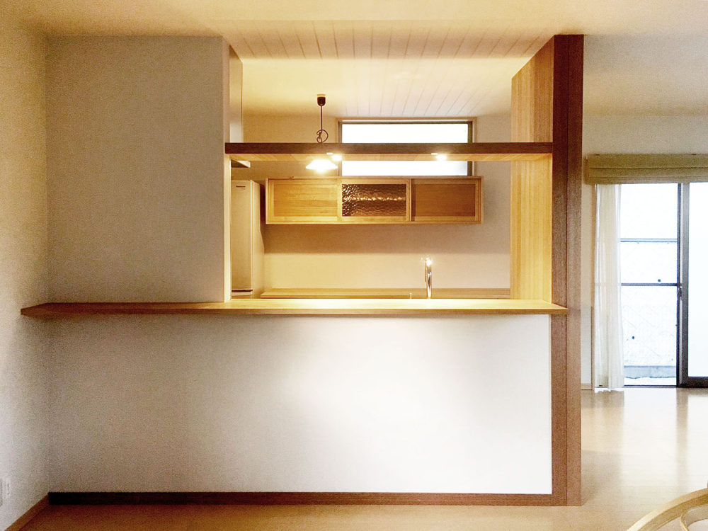 オーダーキッチン、食器棚/関西・京都