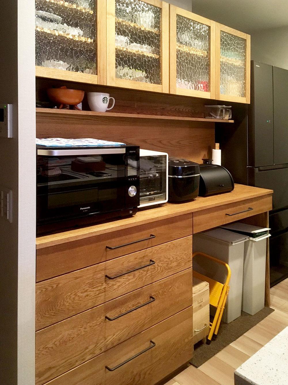 オーダー家具・食器棚・カップボード/関西・兵庫 width=