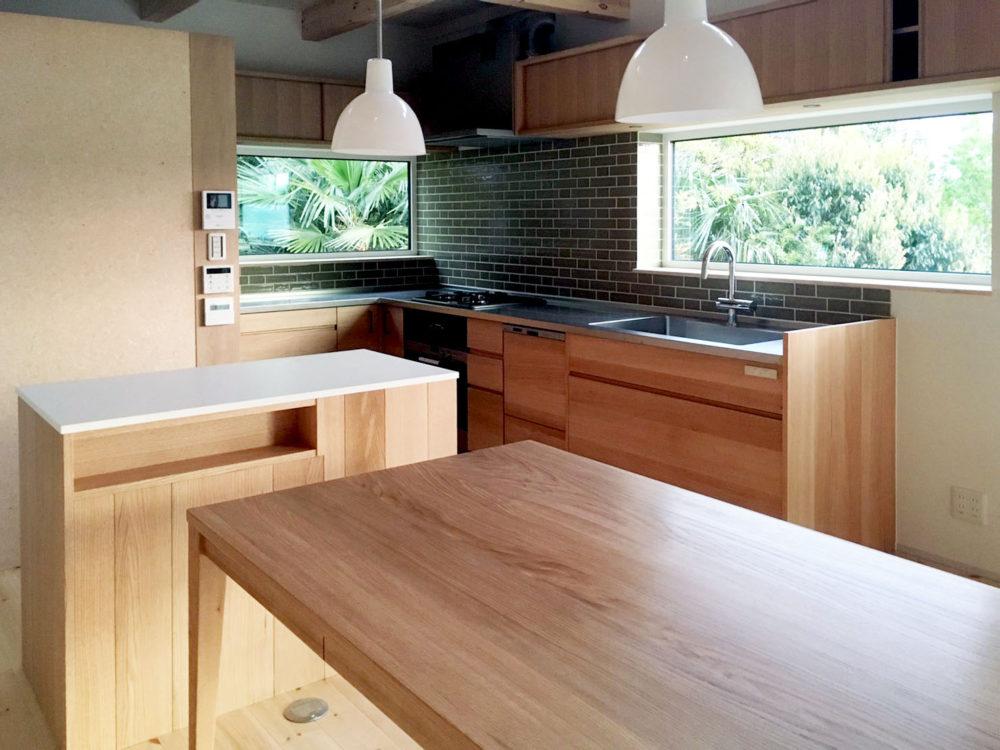 オーダー家具・階段、キッチン、カウンター、ダイニングテーブル/関西・奈良