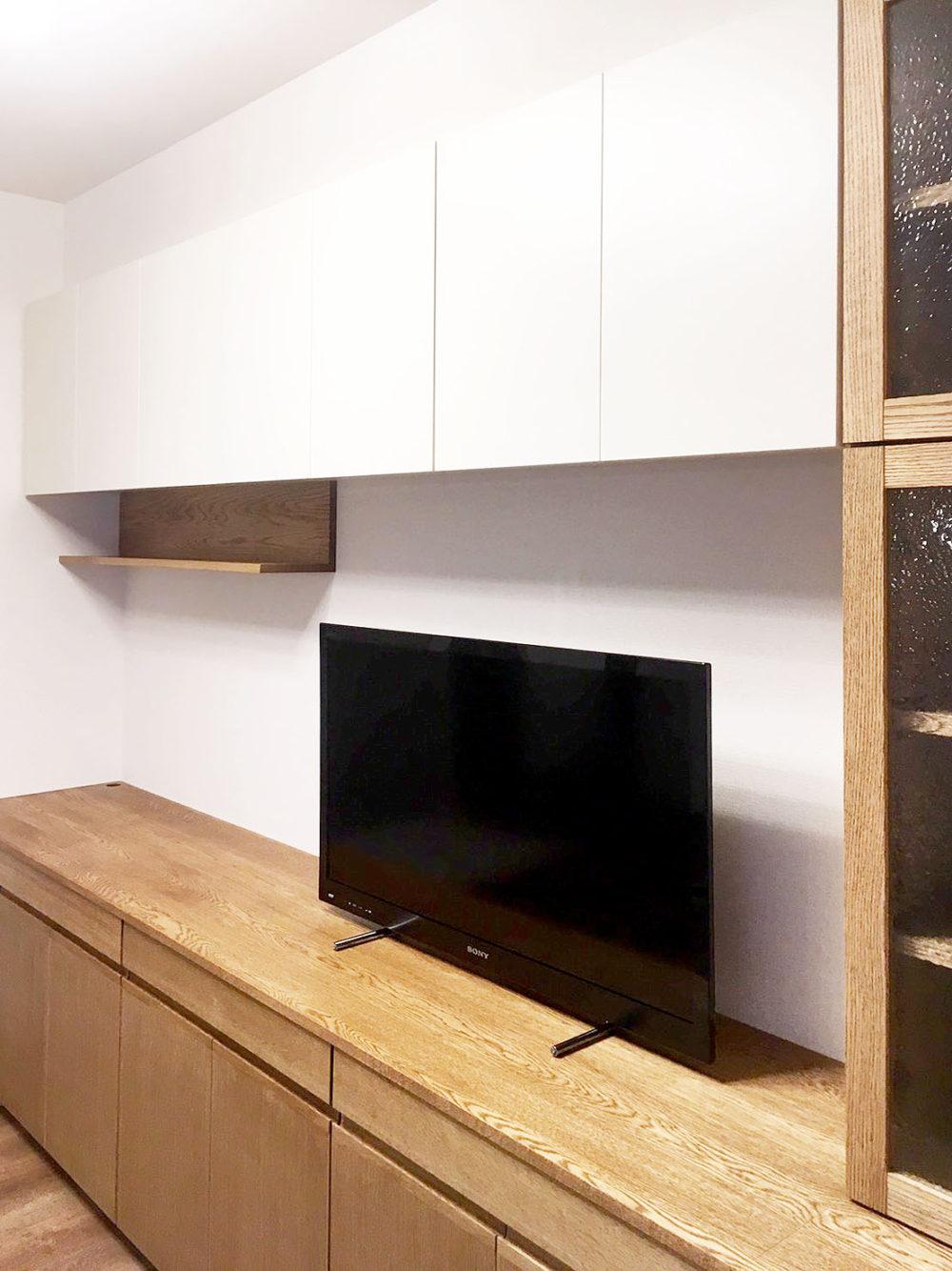 オーダー家具・リビングボード、テレビボード、吊り棚/関西・大阪・北摂