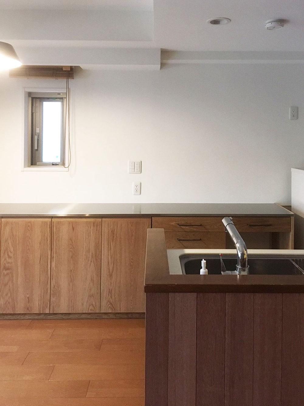 マンションリノベーション&オーダー家具、キッチン/大阪