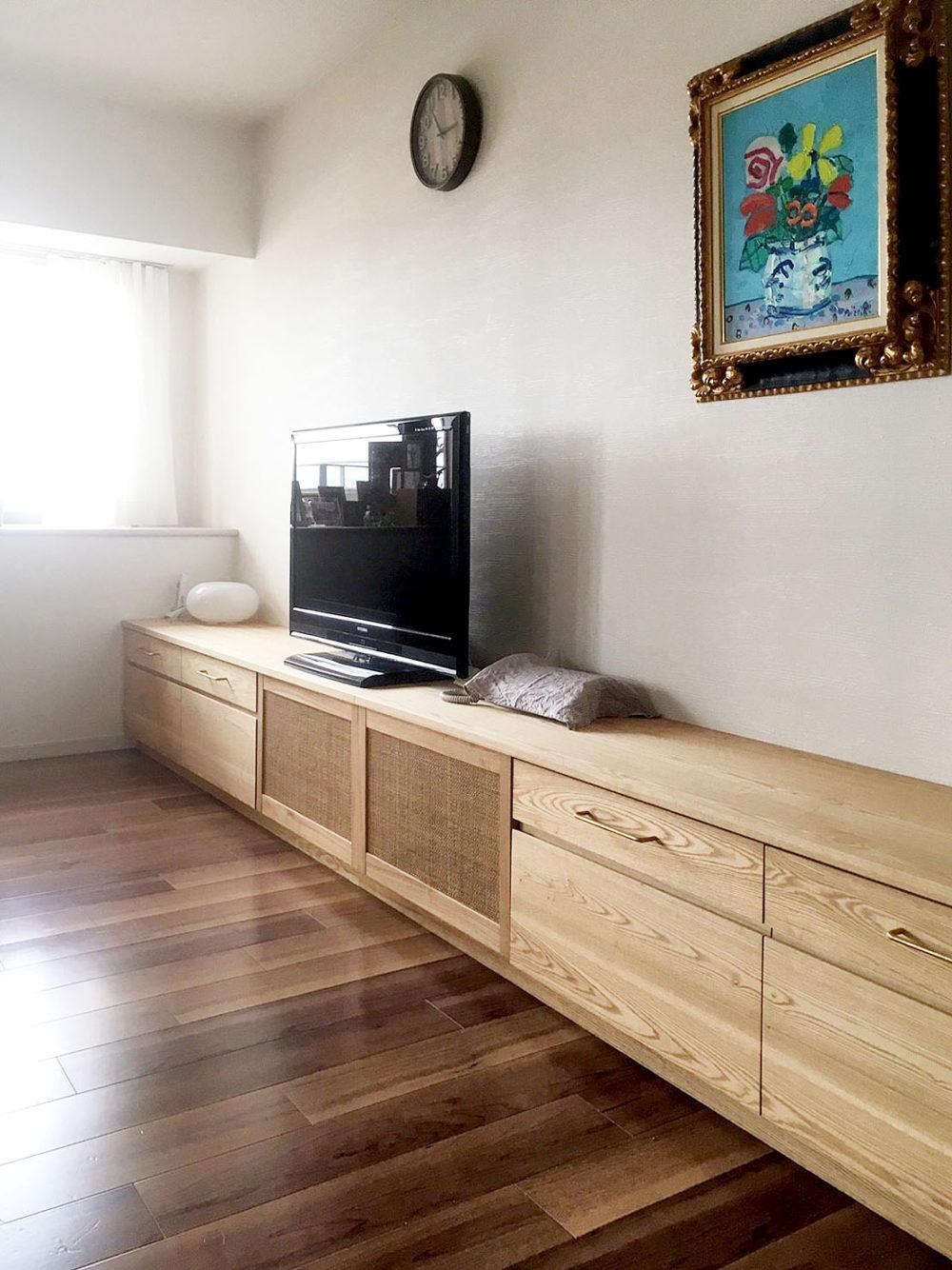 オーダー家具・テレビボード/関西・大阪・吹田