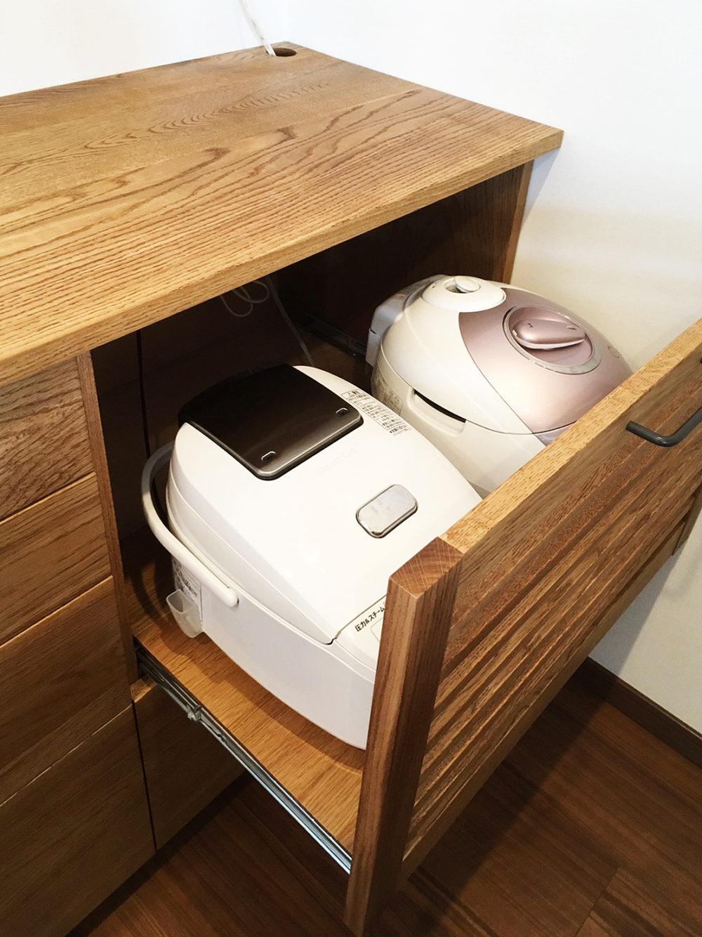 オーダー家具・食器棚(引き出し)