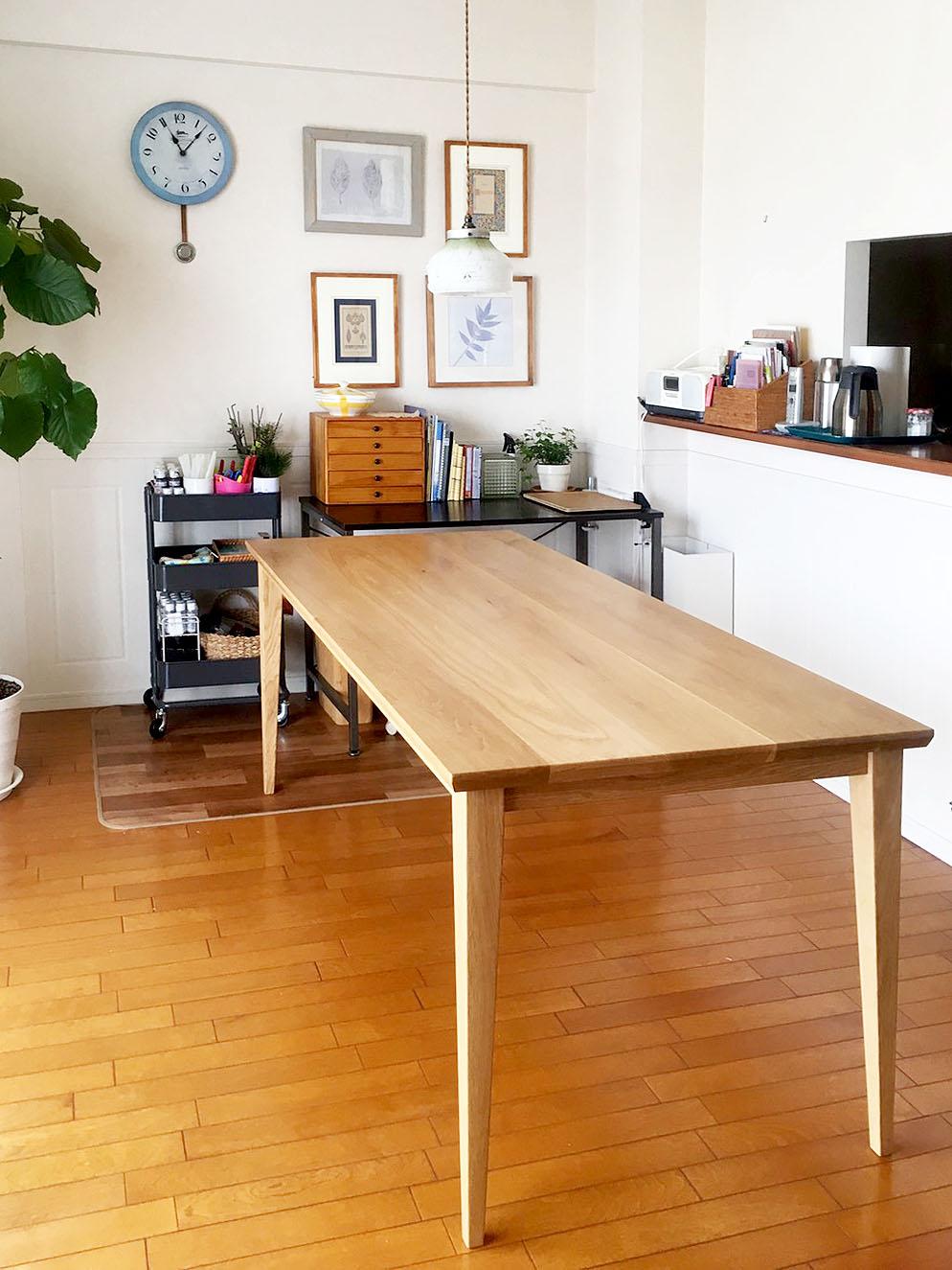 オーダー家具・ダイニングテーブル