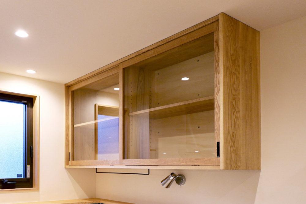 オーダー家具・食器棚、吊り棚/関西・京都