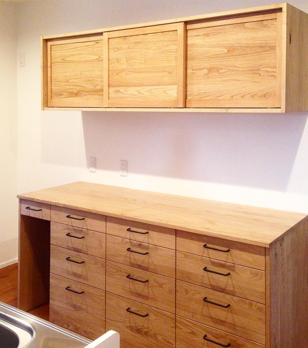 オーダー家具 食器棚 キッチン/関西 滋賀