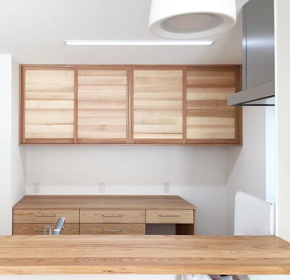オーダー家具・カップボード食器棚/関西・奈良・生駒