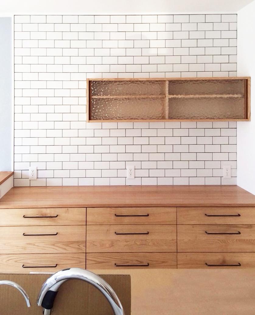 オーダー家具・食器棚/関西・滋賀県