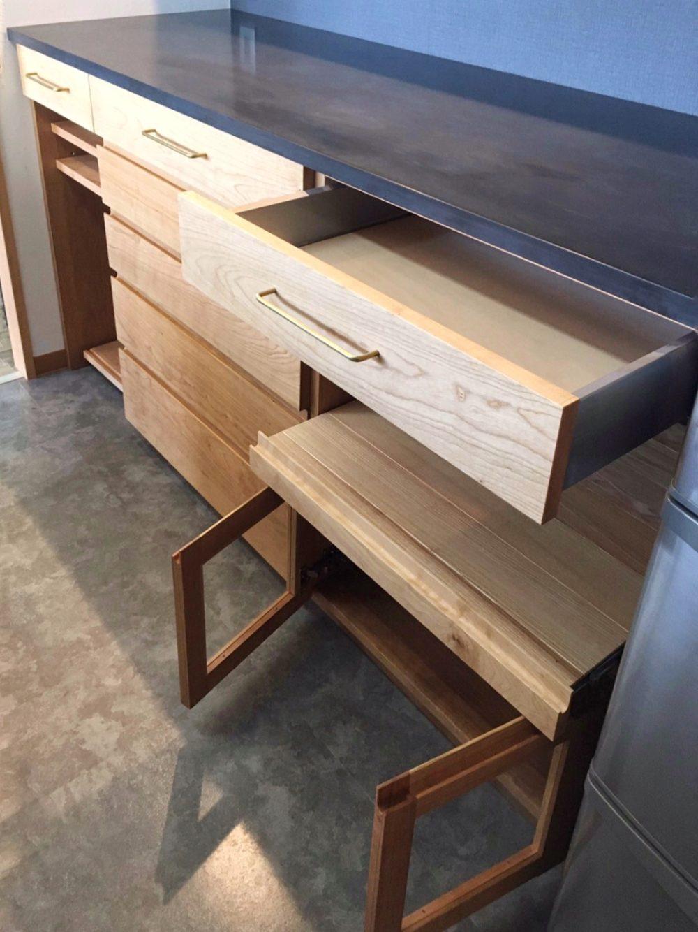 オーダー家具・カップボード食器棚/関西・兵庫・西宮