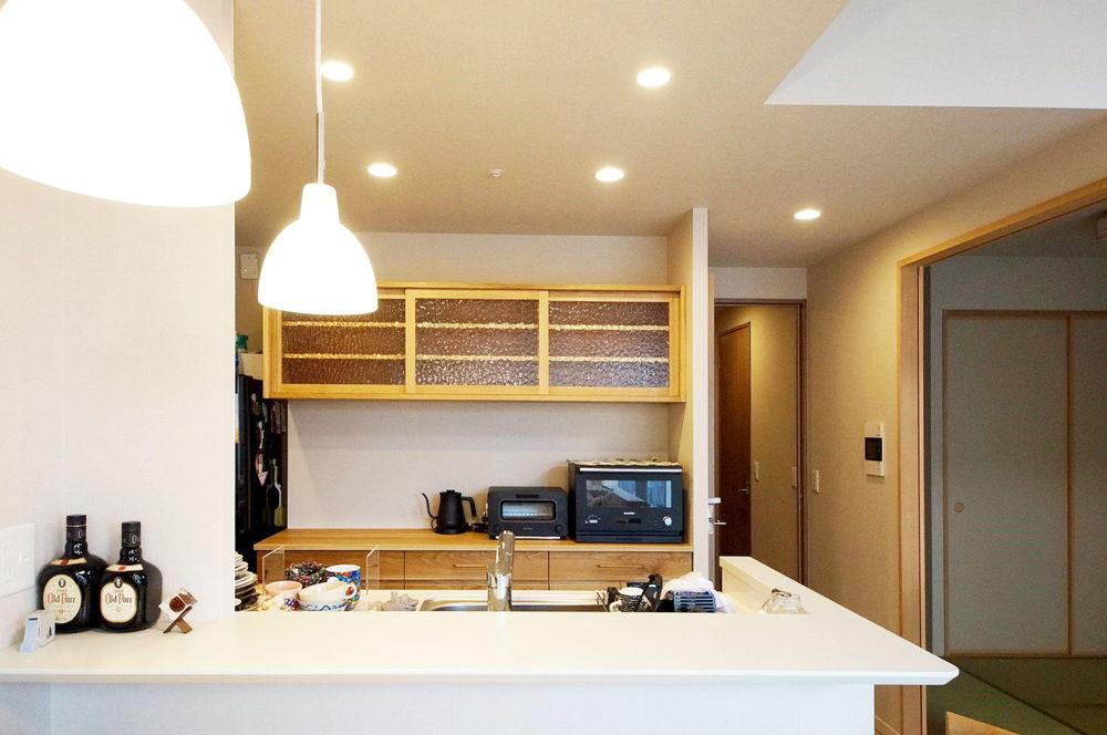 オーダー家具・食器棚カップボード/関西・京都