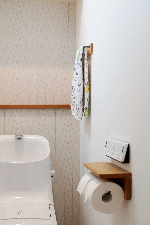 オーダー家具・小物/トイレットペーパーホルダーとタオル掛け/大阪府茨木市