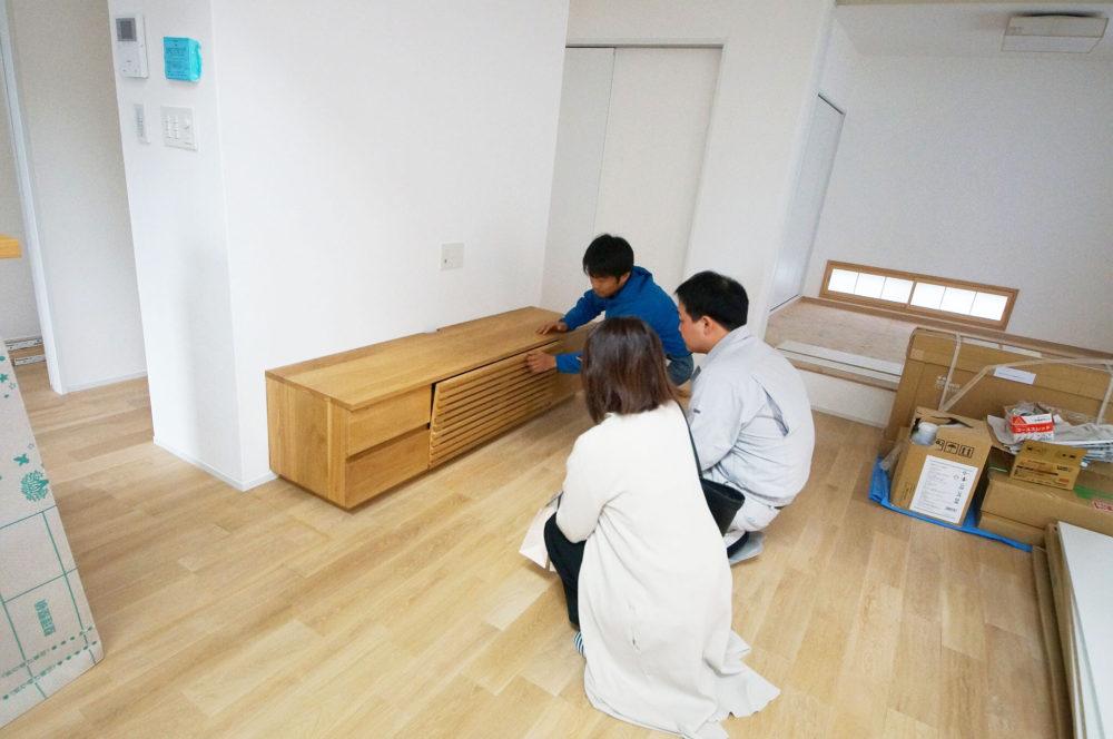 オーダー家具・TVボード/関西・兵庫・赤穂