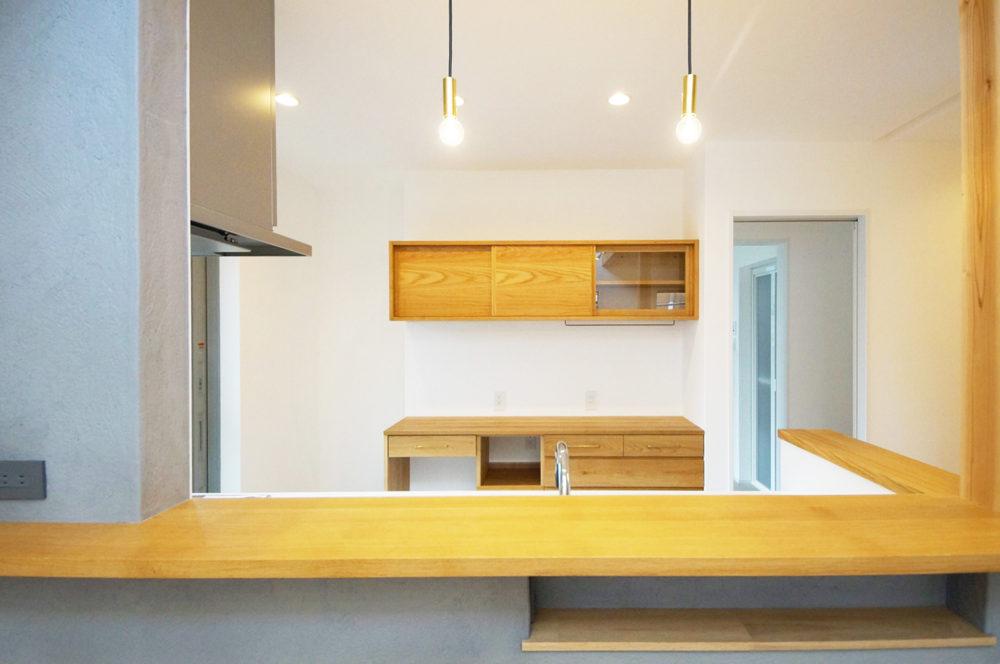オーダー家具・カップボード食器棚/関西・京都