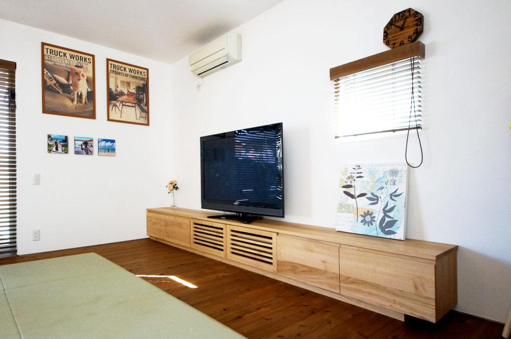 オーダー家具・テレビボード/関西・和歌山