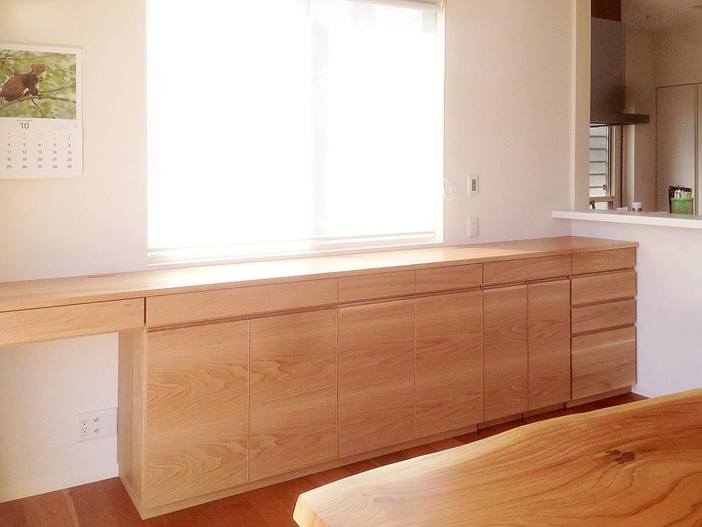 オーダー家具・リビングボード