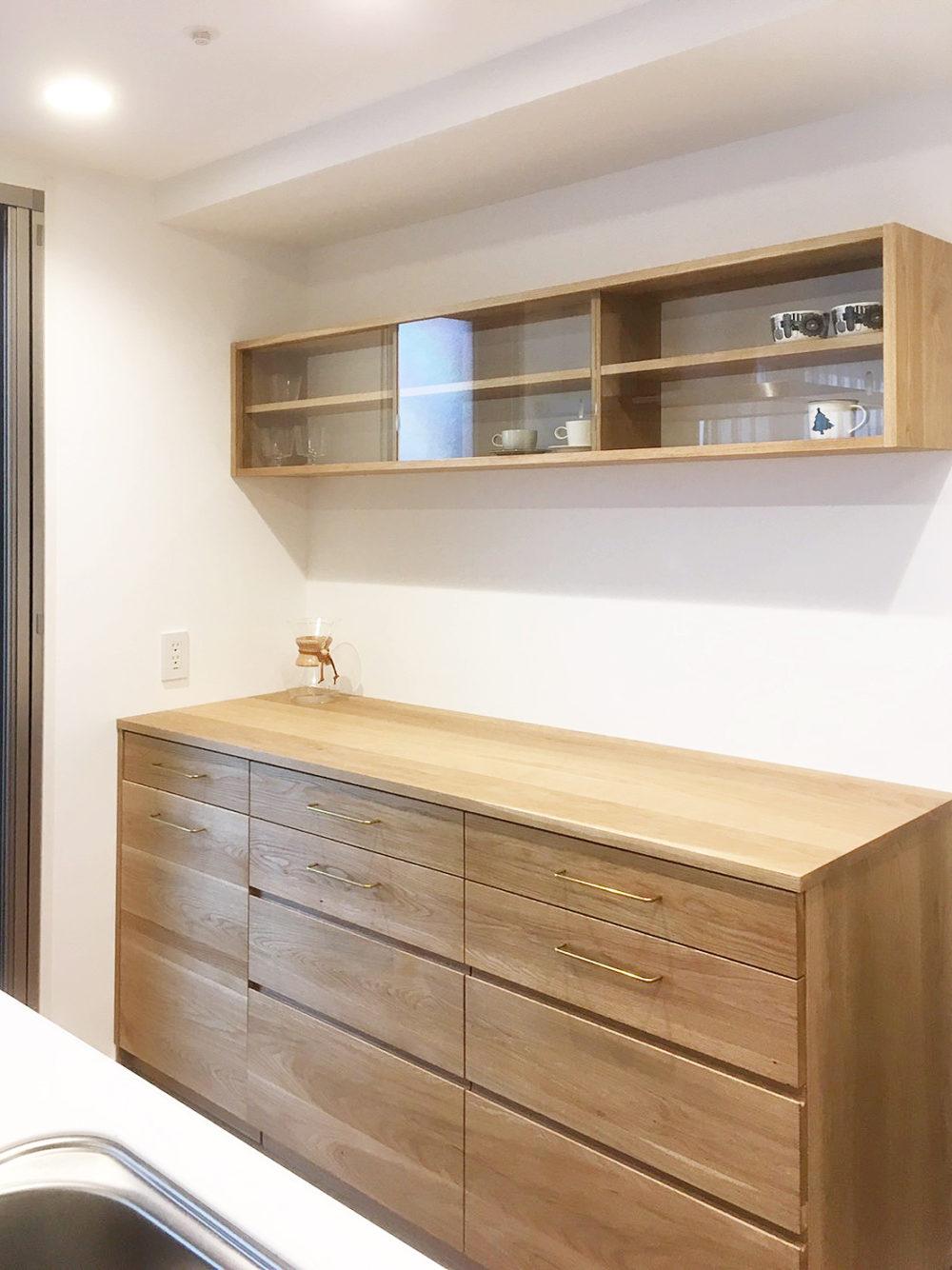 オーダー家具・食器棚 /兵庫県・尼崎