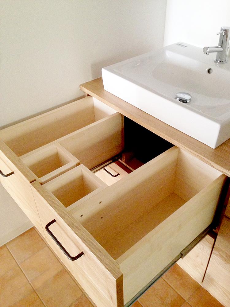 オーダー家具・洗面所
