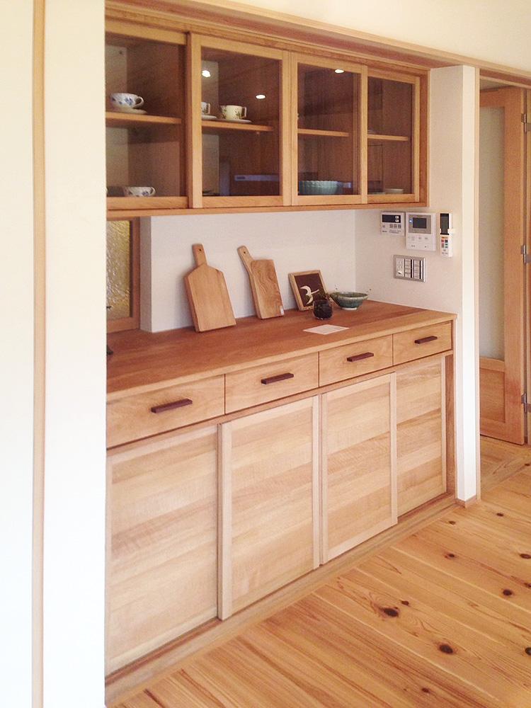 オーダー家具・食器棚、飾り棚/関西・大阪