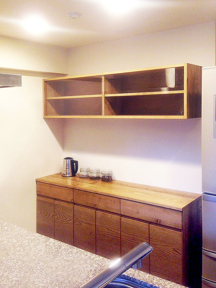 オーダー家具・食器棚